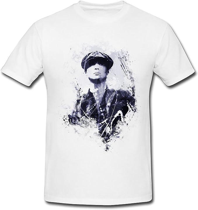 peaky blinders Thomas Shelby tipo premium Camiseta para mujer, diseño de Paul Sinus Acuarela