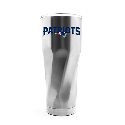 Amazon.com: NFL New England Patriots - Vaso de doble pared ...