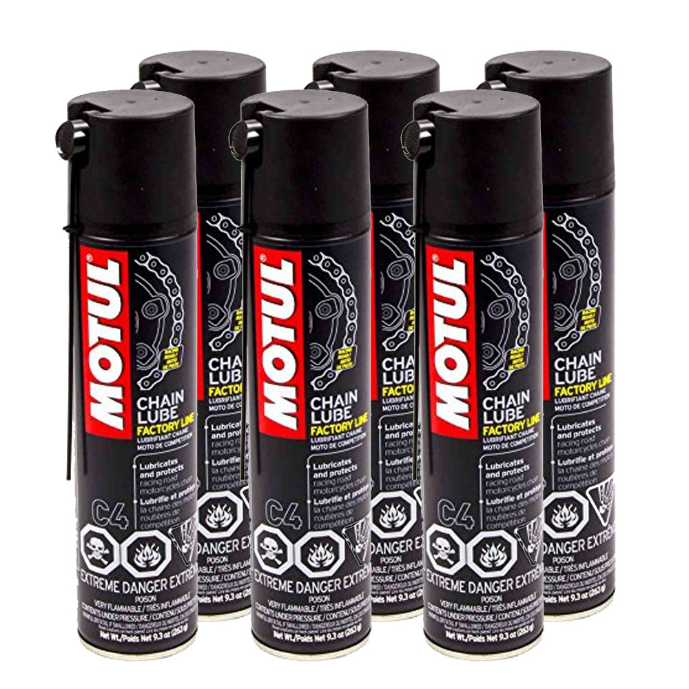 Motul Chain Lube Factory Line 9.3oz (Pack of 6)