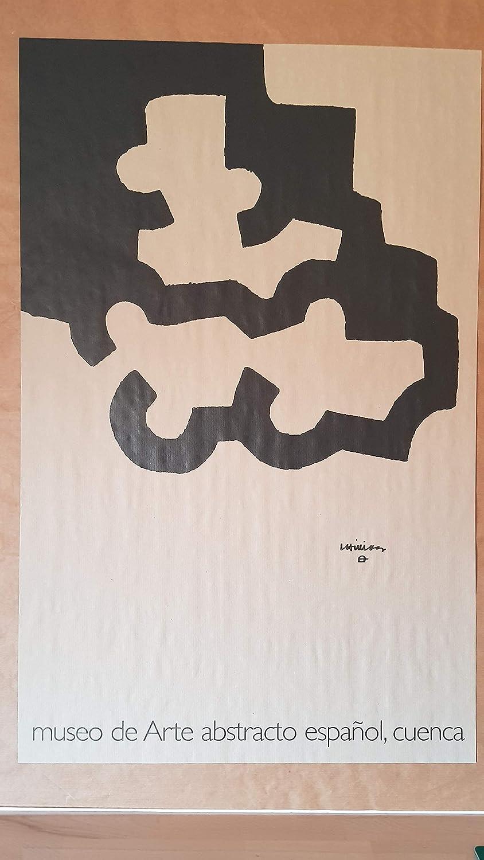 EDUARDO CHILLIDA. Litografia original sobre papel de embalar. 80 x 55 cm. Firmada en plancha