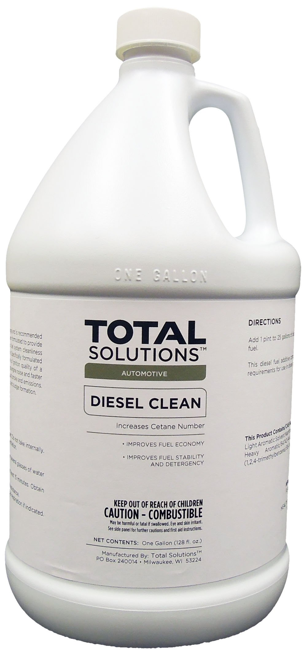 Diesel Clean, Cetane-improving diesel additive- 4 Gallons