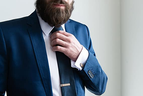 BeWooden Alfiler de corbata Sull Clip - alfiler de corbata 4cm de ...