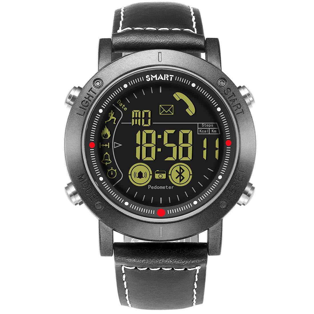 DXY Reloj Inteligente,Smartwatch Clásico, IP68 Resistente al ...