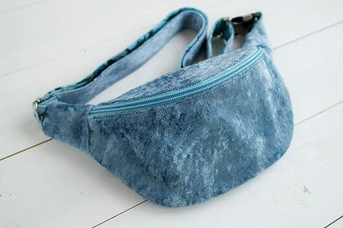 belly bag jeans belt bag Handmade Hip bag