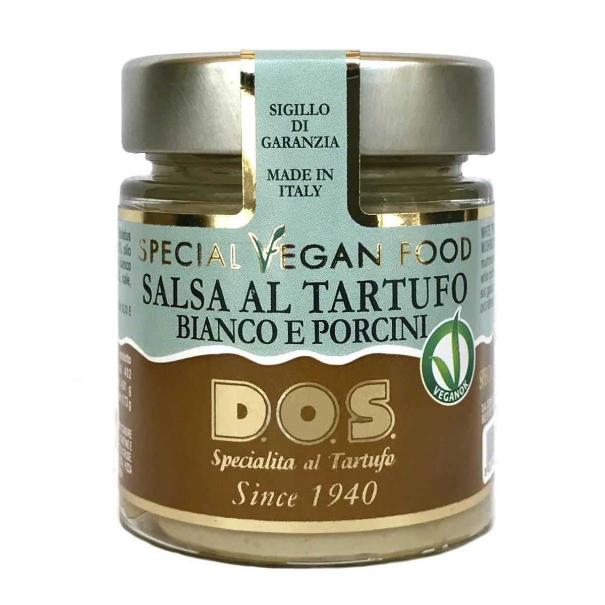 Salsa Vegan de Trufas Blancas y Setas 130g - Producción artesanal Italiana: Amazon.es: Alimentación y bebidas