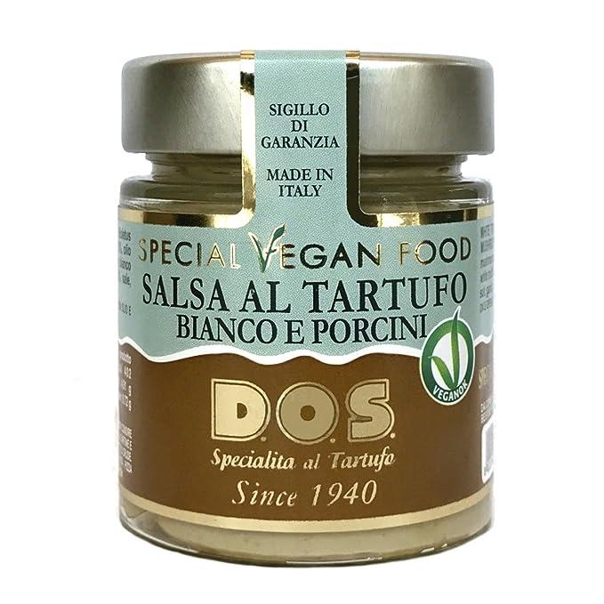 Salsa Vegan de Trufas Blancas y Setas 130g - Producción artesanal Italiana