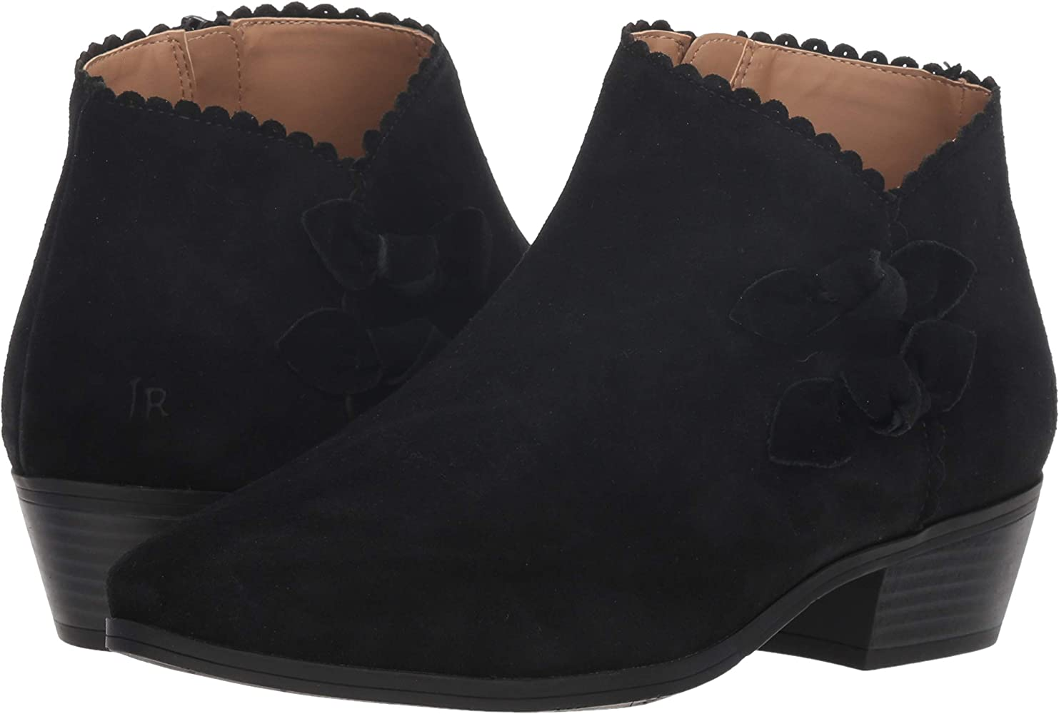 Kali Ankle Bootie Boot, Black Suede