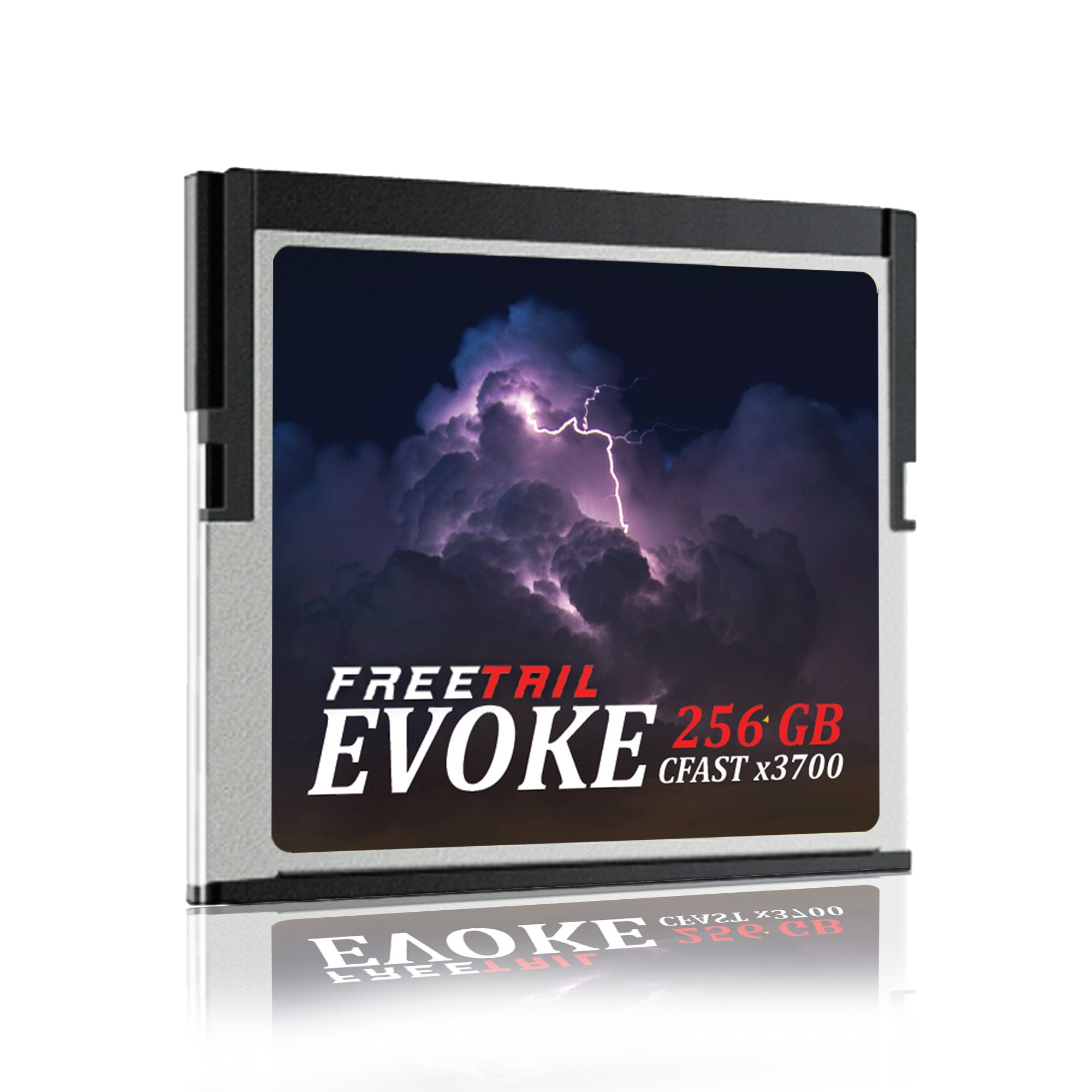 FreeTail EVOKE 3700x 256GB CFast 2.0 Memory Card, Up To 560MB/s, VPG-130 (FTCF256A37) by FreeTail Tech (Image #3)