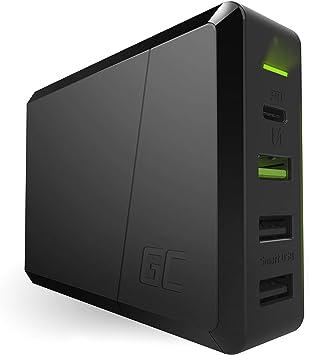GC Power Source 4 Puertos 75W USB C Cargador con 60W USB-C PD ...