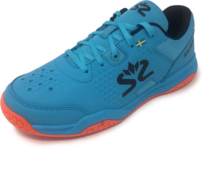 Zapatillas salming Hawk Court Shoe jr Azul