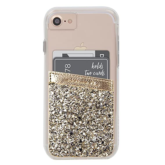 buy popular 5e5d7 1d7ed Case-Mate - Stick On Credit Card Wallet - POCKETS - Ultra-slim Card Holder  - Universal fit - Apple – iPhone – Samsung – Galaxy - and more - ...