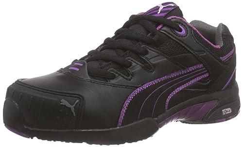 Puma Steeper - Calzado de protección (talla 35) color negro