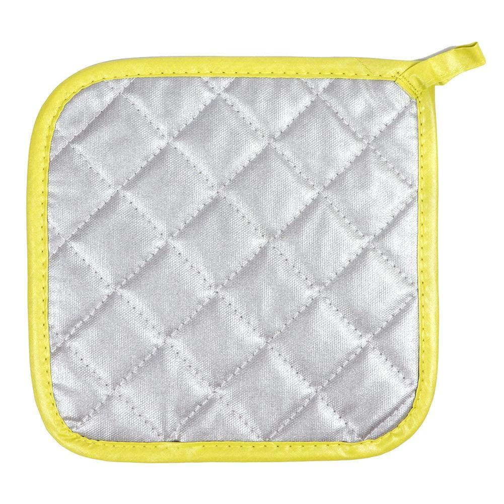 WXLAA Presine da Cucina in Cottone Termoresistente Lavabile Resistente al Calore per Cucina 1 Pz Beige