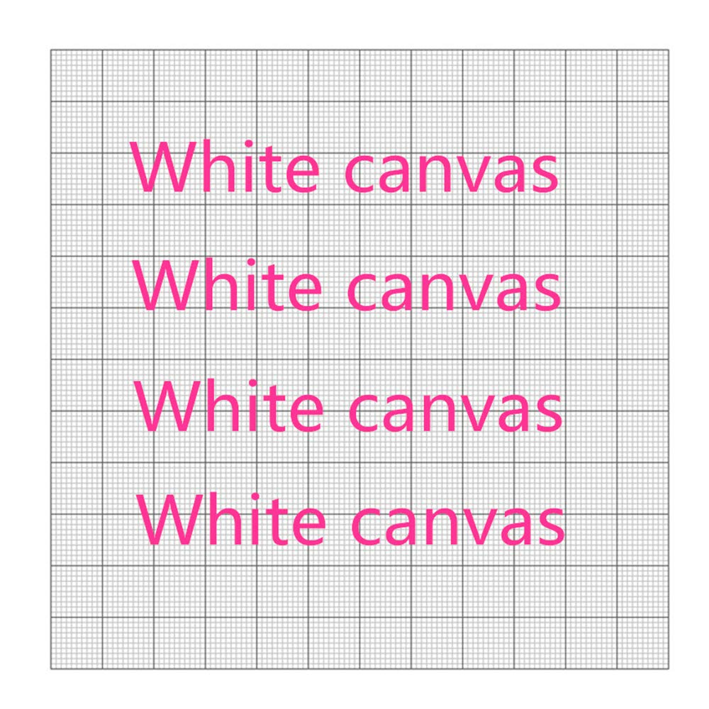 10pcs/Lot Diamond Embroidery Canvas Diamond Painting Blank Canvas with Glue Empty Canvas with Markings Grid Adhesive Accessories No Drills,Square 50x40cm