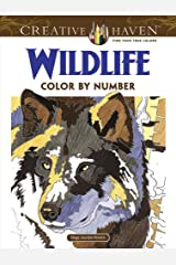 Creative Haven Wildlife Color by Number Coloring Book (Creative Haven Coloring Books) Paperback