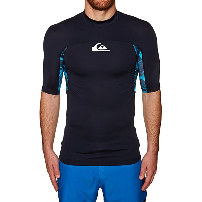 Quiksilver Slash - Short Sleeve UPF 50 Rash Vest - Hombre