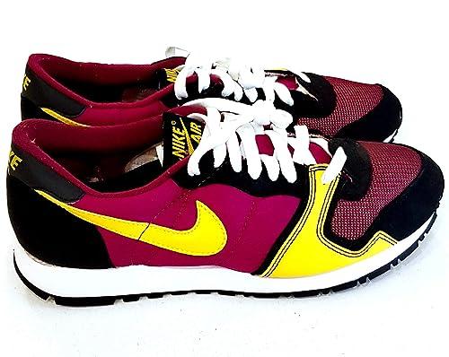 4d434ec54cb3 Nike Original 2005 Vengeance Trainers 307659 671 Raspberry Red Varsity Maize-White-Black  Retro 80 s Men s UK 7.5