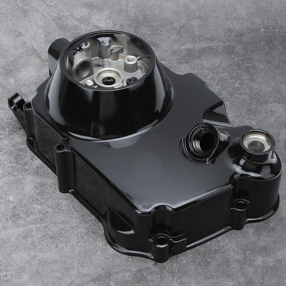 Akozon Embrague manual Motor del lado derecho Cubierta de la carcasa del motor para 50cc 110cc 125cc ATV
