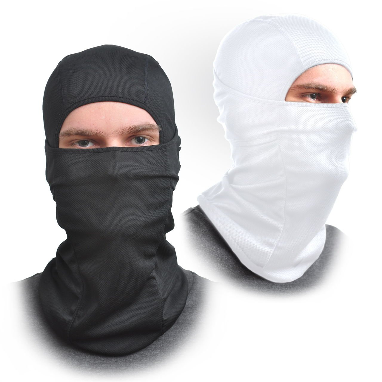 Approved for Automotive Balaclava Face Mask [2-pack] One Size Fits All