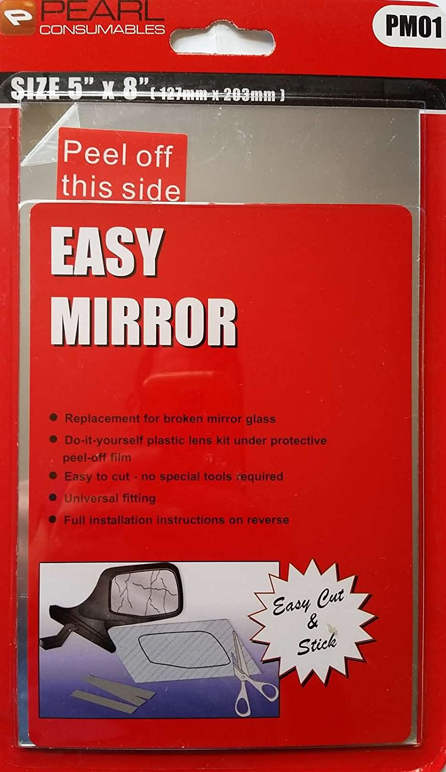 XtremeAuto® Cut-able Stick On Easy Mirror - Easy Installed - Includes XtremeAuto Sticker XtremeAuto®