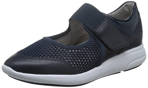 Geox D Ophira a, Zapatillas para Mujer, Negro (Blackc9999), 36 EU