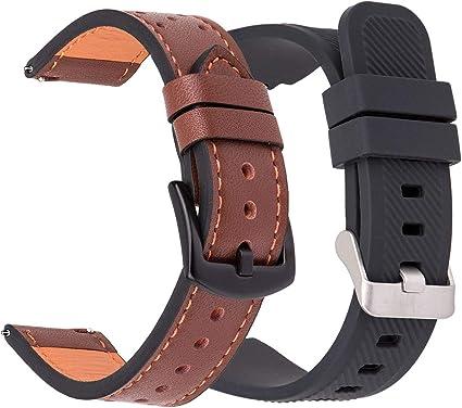 Amazon.com: Correa de 1.811 in para Samsung Gear S3 Frontier ...