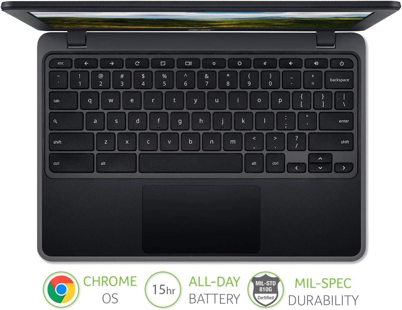 MediaTek 8183, 4GB RAM, 32GB eMMC, 11.6 inch HD Display, Chrome OS, Black Acer Chromebook 311 C722