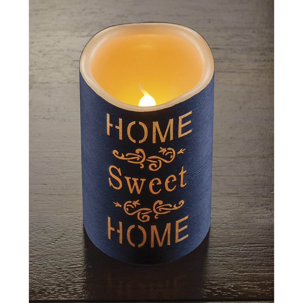Home Sweet Home Flameless LED Candle