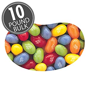 Jelly Belly Sours Jelly Beans - 10 lbs bulk - Official, Genuine, Straight from the Source