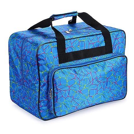IGNPION - Bolsa de costura, color azul: Amazon.es: Hogar