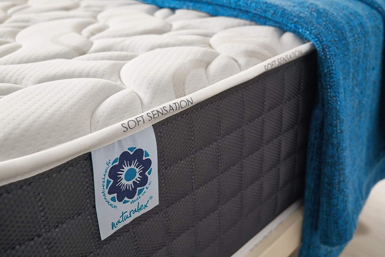 Naturalex   Viscosoft   Colchón 150x190 Cm Viscoelástico Gama Premium 30 cm   Tecnología BlueLátex Última Generación   Excelentes Núcleos Poliuretano ...