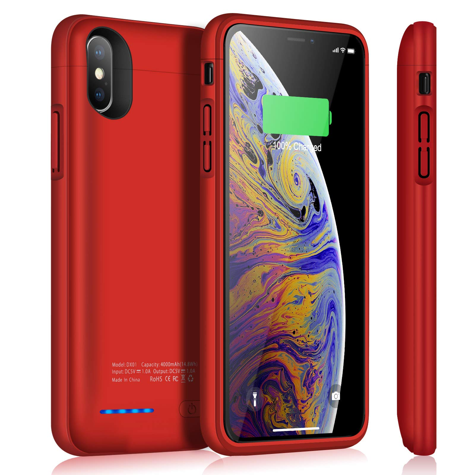 Funda Con Bateria de 4000mah para Apple Iphone X/Xs TAYUZH [7Q9LZ61N]