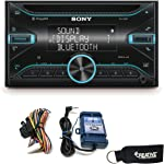 Sony WX-920BT Double-DIN Bluetooth & CD Receiver with SWI-RC Steering Wheel