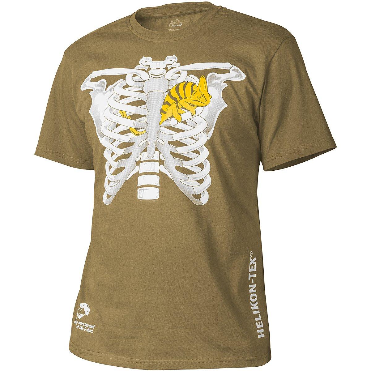 Helikon Hombres Chameleon in Thorax Camiseta Coyote: Amazon.es ...
