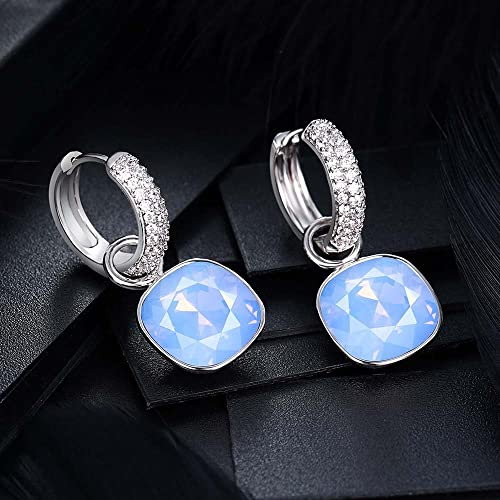 Xuping Luxury Flexible Drop Earrings Crystals from Swarovski Women Jewelry Party Gifts