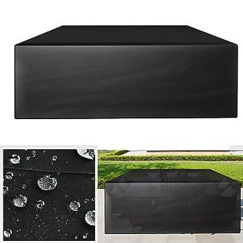 GreenEur Funda para Muebles de Exterior Cubierta Protectora de Polvo Agua Solar para Barbacoa sofá sillas de Exterior (242 x 162 x 100 CM): Amazon.es: ...