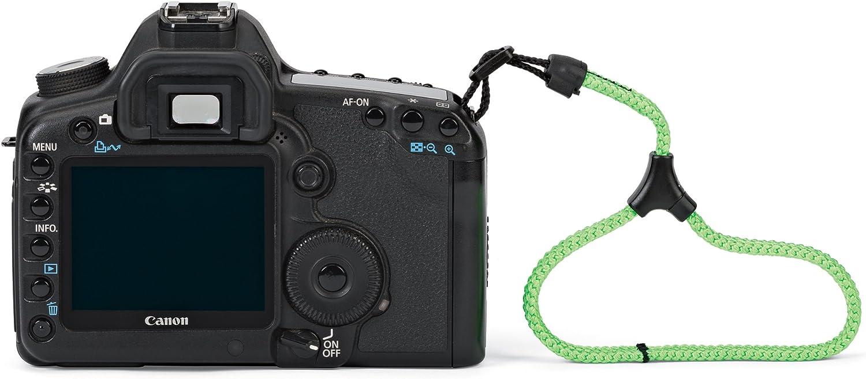 MoKo Universal Paracord Nylon Braided Adjustable Camera Hand Grip Strap for Video Camcorder 2 Pack Black /& Red//Black Binoculars and Nikon//Canon//Sony//Minolta//Panasonic//SLR//DSLR Digital Cameras
