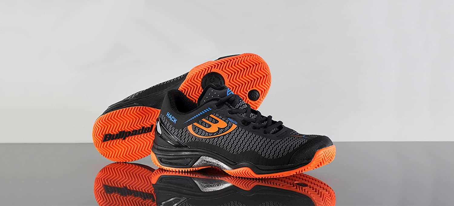 Bull padel Zapatillas Padel Hack Knit: Amazon.es: Deportes y aire ...