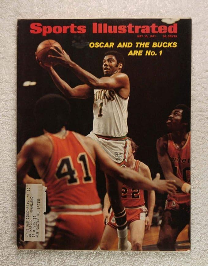 Oscar Robertson - Milwaukee Bucks - 1971 NBA World ...