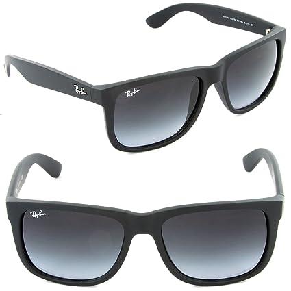 df1da410c9d58 Amazon.com   Ray-ban Rb4165 Justin 601 8g Black Frame Unisex Sunglasses  Gray Gradient Lens 51mm   Everything Else