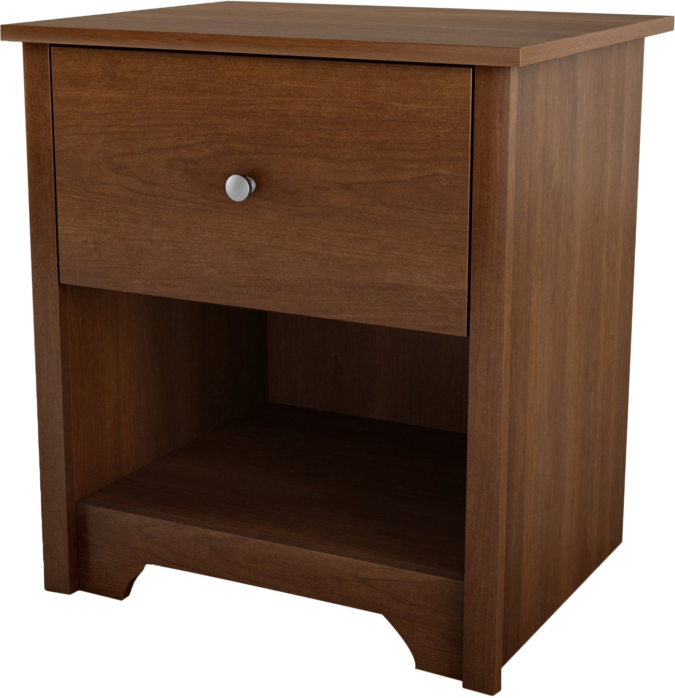 South Shore Furniture Vito Collection, Night Stand, Chocolate 3119062
