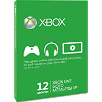 Xbox LIVE Gold 12-Month Membership Card (Xbox One/360)