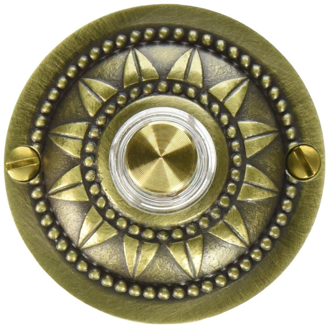 Sonnette filaire rond, Laiton Carlon Home Products DH1651L