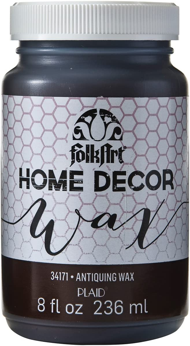FolkArt Home Decor Chalk Furniture & Craft Paint in Assorted Colors, 8 ounce, Antique Wax