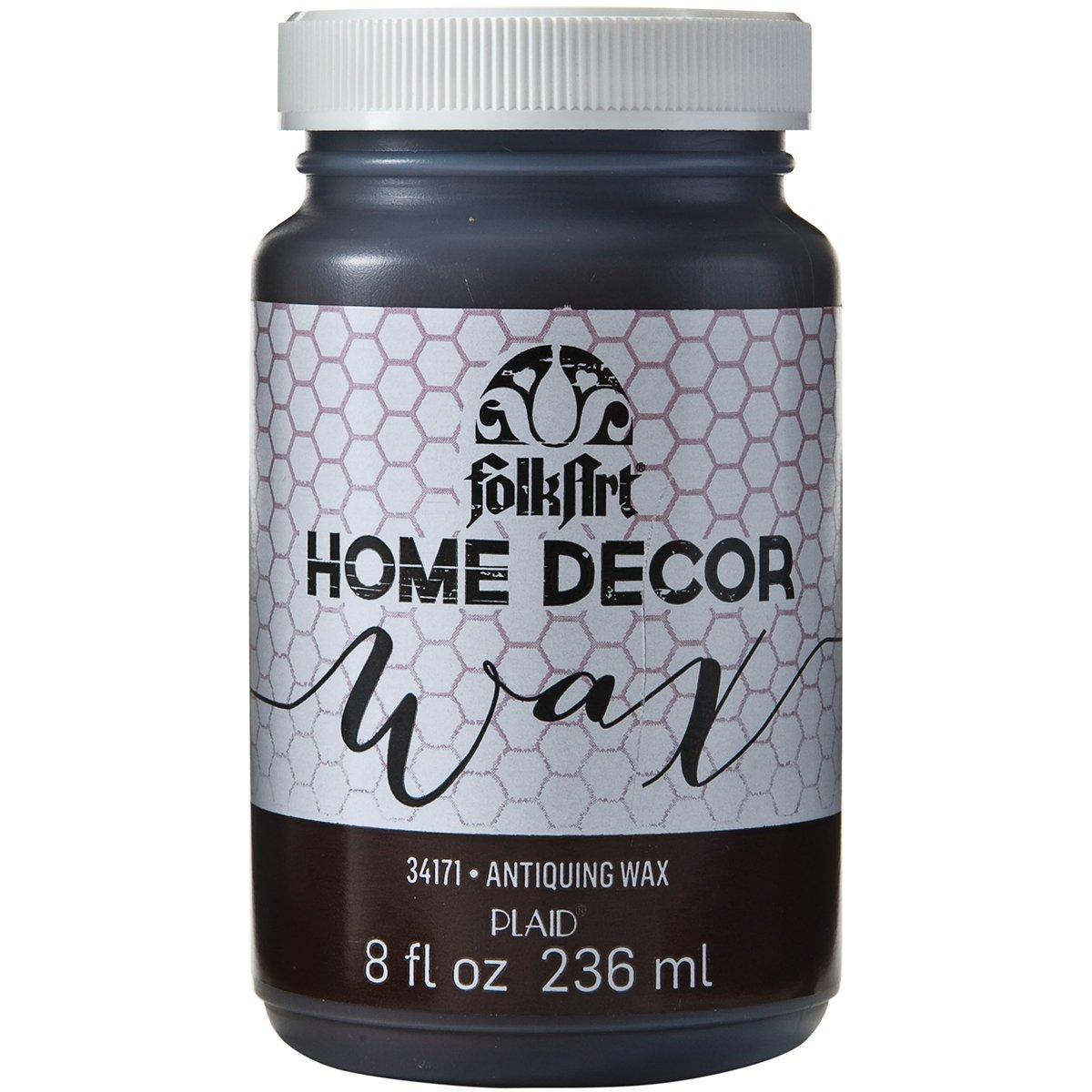 FolkArt Home Decor Wax (8-Ounce), 34170 Clear Folk Art
