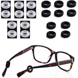 MOLDERP Silicone Eyeglasses Temple Tips Sleeve Retainer, Anti-Slip Round Comfort Glasses Retainers for Spectacle…
