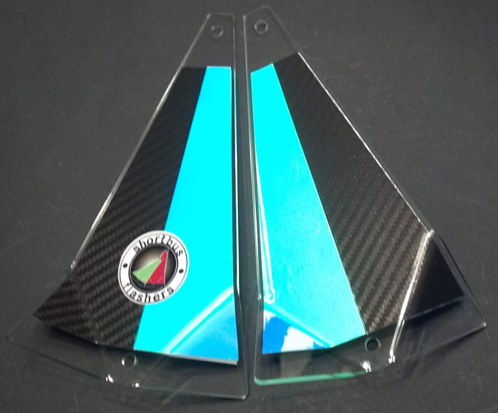 8'' Fishing Flasher - Black Mamba