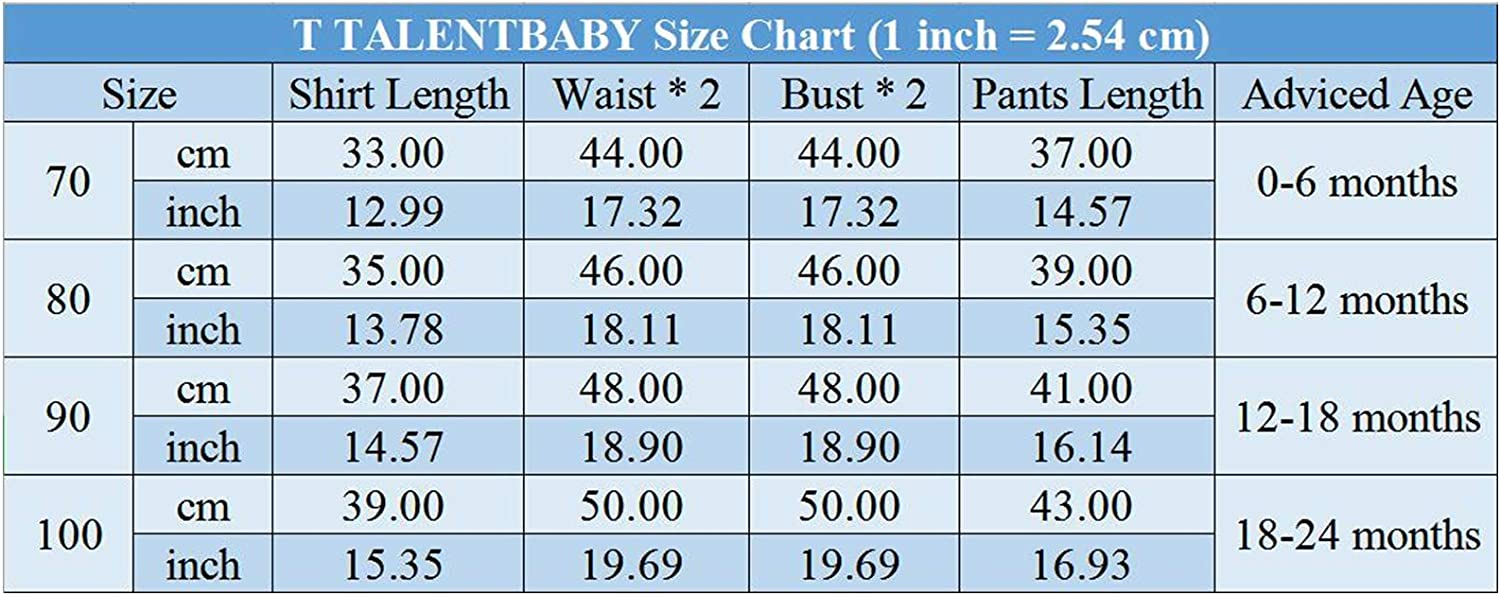 T TALENTBABY 2 Pcs Baby Boy Print I Get My Charm from Daddy Short Sleeve T Shirt Tops Long Camouflage Pants Set 0-24M
