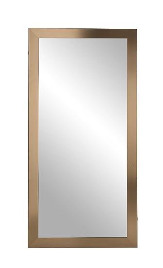 Amazon.com: BrandtWorks, LLC Contemporary Floor Mirror, 32 x 66 ...