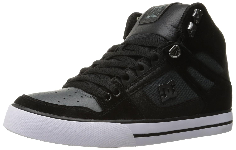 DC Men's Spartan HI WC SE Sneaker Black/Dark Grey
